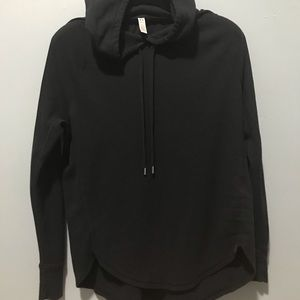Under Armour black hooded sweatshirt